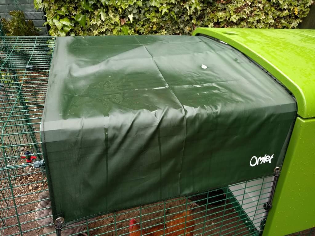 Allwetter cover für den hühnerstall eglu cube mk1u201c 1 meter eglu