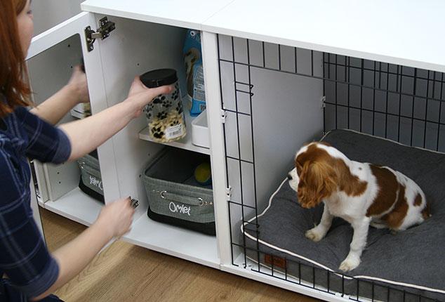 Die Fido Studio Hundebox, eine Hundehütte für den Innenbereich