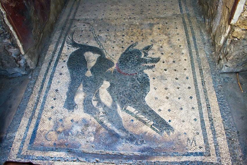Ein Römisches Mosaik