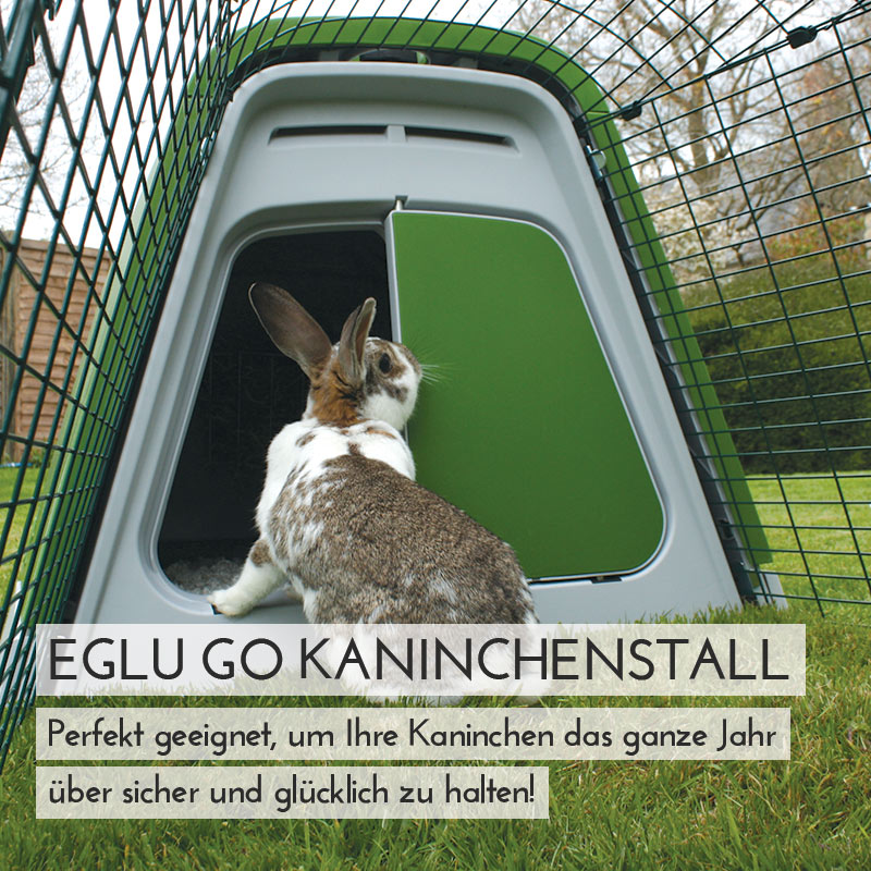Main Eglu Go Rabbit Hutch Mobile DE